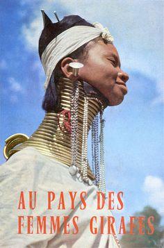 AU PAYS DES FEMMES GIRAFES | collection of old photos | Flickr