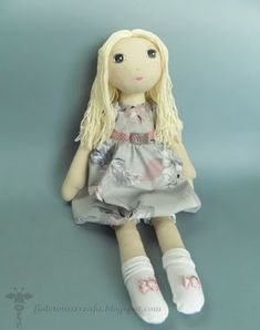 doll, lalka, rękodzieło, handmade Harajuku, Sewing, Instagram Posts, Objects, Fashion, Moda, Dressmaking, Couture, Fashion Styles