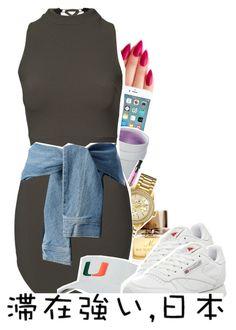 """omfg-i love u"" by x-gladys-x ❤ liked on Polyvore featuring мода, Burberry, Bulova, DKNY, Reebok, women's clothing, women's fashion, women, female и woman"