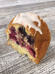 This delicious bundt cake filled with organic berries is moist and flavorful with hints of orange and coconut.