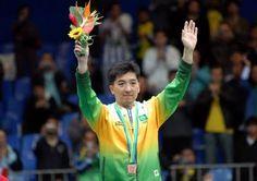Hugo Hoyama - Table tennis champion.