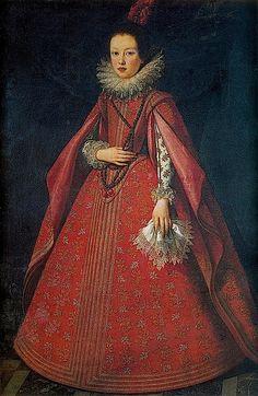 1622 Margherita de Medici by Justus Sustermans