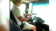 Texting. The majority of school bus drivers would NEVER do this. We are dedicated to the safety of our students.
