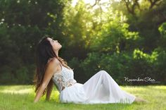 Outdoor photography, poses, posing, white dress, natural light photography, portrait