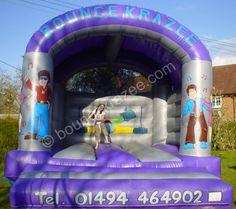 Bouncy castle adult