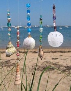how to make a wind chime, craft ideas