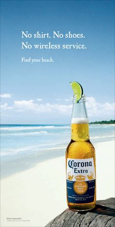 #Corona - Find Your Beach #print #ad