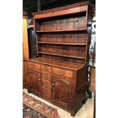 18th / 19th Century George III Welsh Two-Part Dresser or Cupboard in Oak