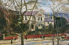 Your Paintings - Carel Victor Morlais Weight paintings Tate Gallery, Royal College Of Art, Rome Travel, London Art, Art Uk, Second World, Landscape Art, Urban Landscape, Your Paintings