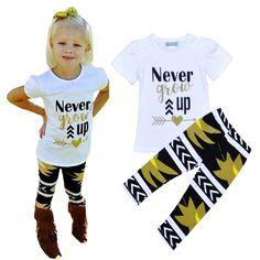New 2016 Girl Clothing Set Summer Fashion Children Baby Girl Sports Suit Brand Girls Clothing Sets Letter Children Clothing Set