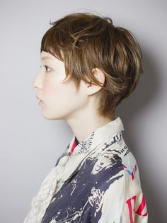 Hair. I just cut my hair and it looks a little like this but not as good because I'm 73.