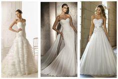 vestido de noiva decote princesa