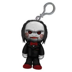 Living Dead Dolls Creepy Cuddlers Saw Mini Plush Clip On [49021] - $7.99 : Mystic Crypt, the most unique, hard to find items at ghoulishly great prices!