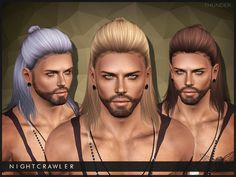 S4 conversion  Found in TSR Category 'Male Sims 3 Hairstyles'