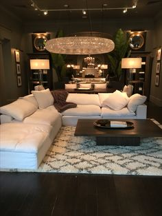 Dream living room. Restoration hardware