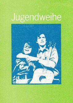 """DDR Museum - Museum: Objektdatenbank - Einladung """"Jugendweihe""""    Copyright: DDR Museum, Berlin. Eine kommerzielle Nutzung des Bildes ist nicht erlaubt, but feel free to repin it!"""