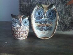 Owl Soap Dish and Toothbrush holder