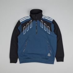 Adidas × Palace Palace X Adidas Originals 1/2 Zip Track Top Size L $350 - Grailed
