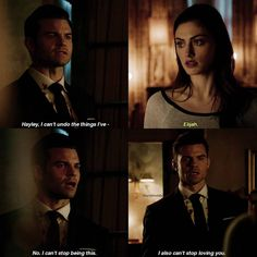 "#TheOriginals 4x13 ""The Feast of All Sinners"" - Elijah and Hayley"