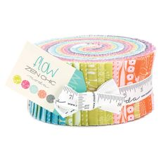 FLOW Jelly Roll   Zen Chic for Moda  2.5-Inch Strips by Jambearies