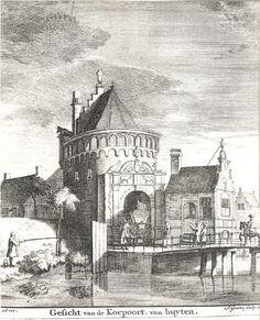 Koepoort buitenzijde 1730 (Goeree - Pronk, 1730)