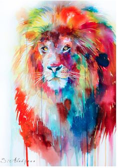 This would make an awesome water color tattoo!