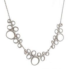 Ten Thousand Things - Triple Dancing Ovals Necklace