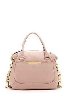 Calvin Klein Washington Leather Satchel Bag