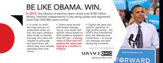 A winning political strategy - Advance Ohio 100 Million Dollars, Political Advertising, Obama Campaign, Political Strategy, Advertising Strategies, Political Spectrum, Swing State, How To Raise Money