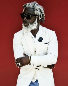 men s outfitters uk Man Street Style, Beard Styles, Hair Styles, Black Men Beards, Black Men Hairstyles, Black Is Beautiful, Stylish Men, Bearded Men, Belle Photo