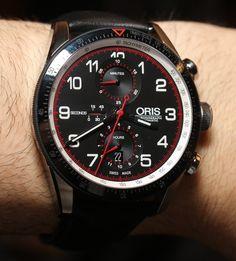 Oris Calobra Limited Edition Racing Watch Hands-On
