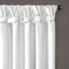Madison Park Natalie Twisted Tab Curtain Panel - Overstock™ Shopping - Great Deals on Madison Park Curtains