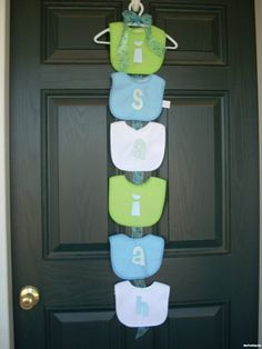 MyPerfectOccassion Decorate Your Front Door MyFixitUpLife - cute for a shower