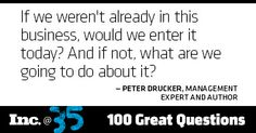 Day 5: Peter Drucker, management expert and author