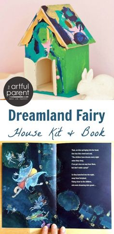 Dreamland Fairy House Kit and Book