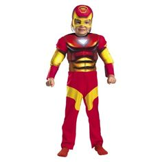 Target's Toddler Boy Iron Man Costume (N actually likes the one for older boys better!)