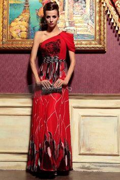 one shoulder beaded red long celebrity dresses for women Evening Wedding Guest Dresses, Women's Evening Dresses, Wedding Dresses, Miss Dress, Dress P, Lace Dress, Dresses 2013, Black Bridesmaid Dresses, Prom Dresses