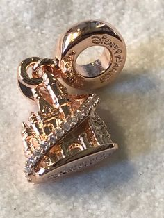 Your place to buy and sell all things handmade - Disney Charms,Pandora Rose Disney Shanghia Castle, - Pandora Charms Disney, Pandora Bracelet Charms, Pandora Jewelry, Pandora Charms Rose Gold, Colar Disney, Beautiful Diamond Rings, Accesorios Casual, Disney Jewelry, Vintage Costume Jewelry