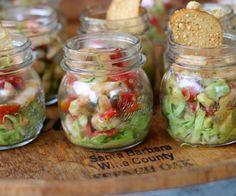 Voorgerecht in-a-jar: Salade van avocado en garnalen ♥ Foodness - good food, top products, great health