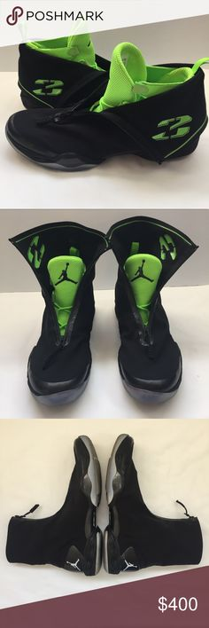 98a81c5a638ad9 Rare Air Jordan XX8 Electric Green Promo Size 15 Preowned Good condition  Size 15 Black