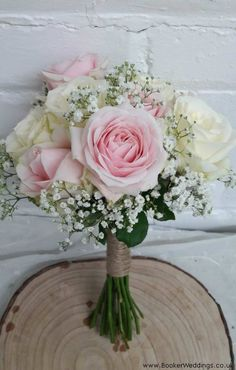Light pink and white floral bouquet featuring roses.Wedding Flowers Liverpool, Merseyside, Bridal Florist, Booker Flowers and Gifts, Booker Weddings - Maggieh Light Pink Bouquet, Pink Flower Bouquet, Bridal Bouquet Pink, Light Pink Flowers, Rose Wedding Bouquet, Prom Flowers, White Wedding Bouquets, Wedding Flowers, Prom Bouquet
