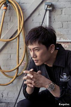 Ji Sung in Esquire Korea August 2017 Gq, Esquire, Korean Male Actors, Asian Actors, Korean Men, Sung Lee, Ji Sung, Cosmopolitan, Marie Claire