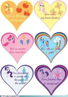 Pony valentines!