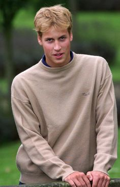 Prince William (back in the single, pre-bald days). Shoulders to die for.