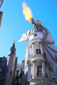 Explore the Wizarding World of Harry Potter at Universal Studios Orlando, Florida. Cruise through the streets of Hogsmeade and Diagon Alley while picking up your supplies for Hogwarts!