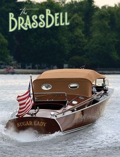 Chris Craft Brass bell Cconvertible