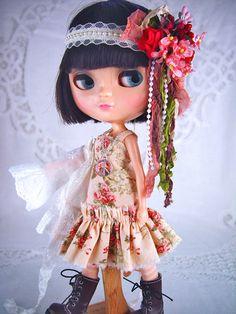 Blythe, Blythe Boho, Blythe Bohemian,Blythe lace, Blythe tights, Blythe clothes, Blythe lace coat, hippie. by TheDollsDresser by TheDollsDresser on Etsy
