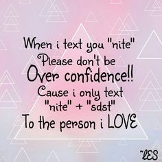 So don't be over confidence