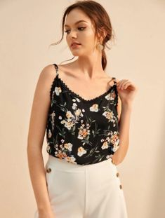 Home - Spot Pop Fashion Cropped Cami, Cami Crop Top, Cami Tops, Leopard Fashion, Pop Fashion, South African Shop, Knit Cardigan, Floral Tops, Outfits