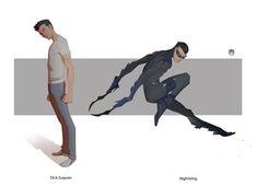 NIGHTWING - Dick Grayson By Kizer